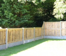 New fence installed in Canterbury